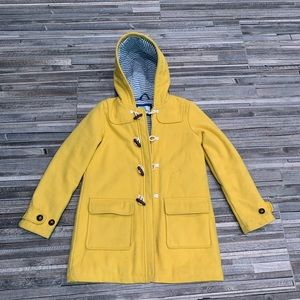 Mini Boden Yellow Duster Coat 11-12y